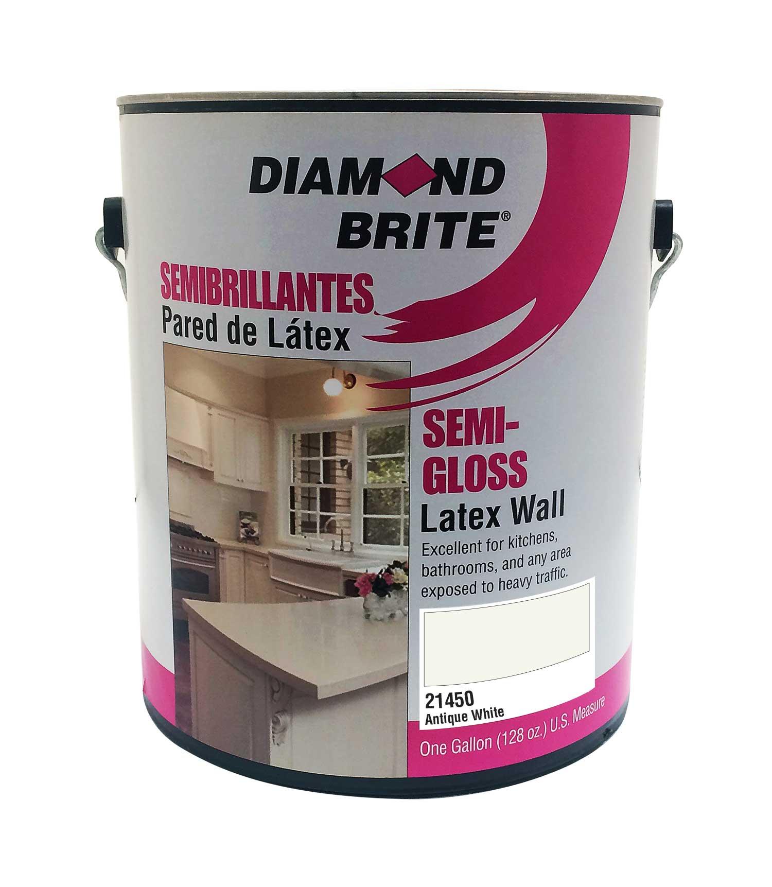 Semi-gloss paint, latex, kitchen, bathroom